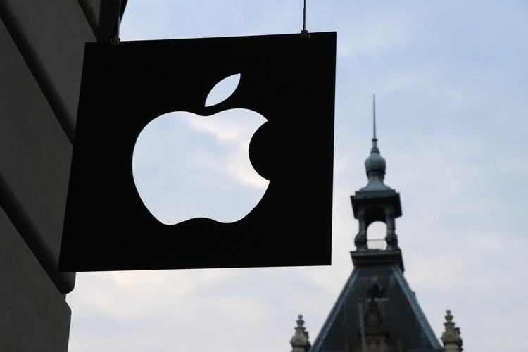 Devanture du siège d'Apple à Amsterdam (Pays Bas)