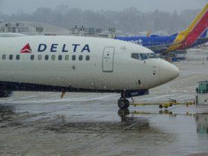 Un Boeing 737 Max posant sur le tarmac de l'aéroport de Milwaukee aux Etats Unis
