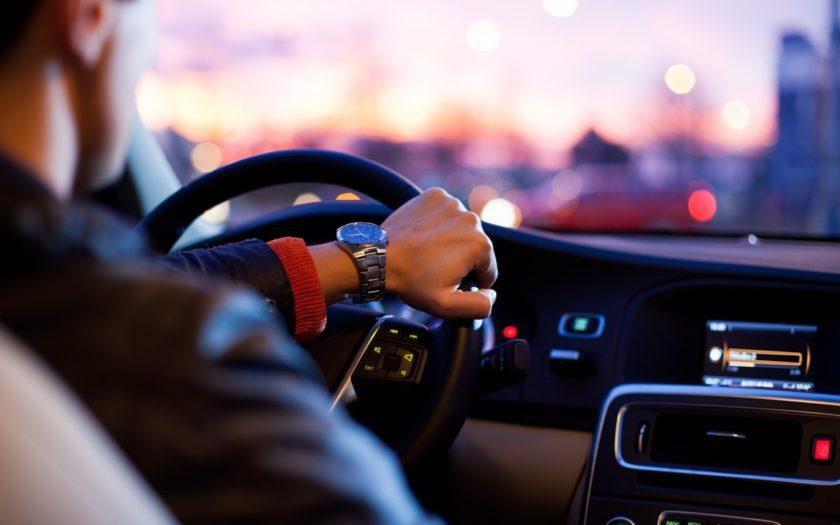 Chauffeur d'Uber