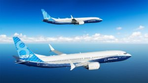 Deux Boeing 737 Max en vol