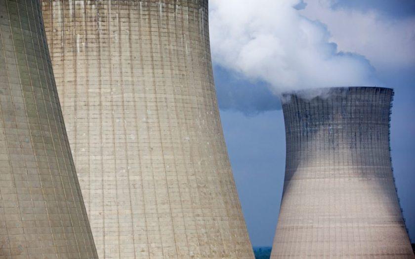 Une centrale nucléaire d'EDF en France
