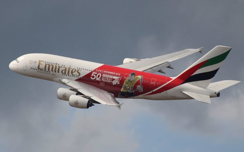 Un Airbus de la compagnie Emirates
