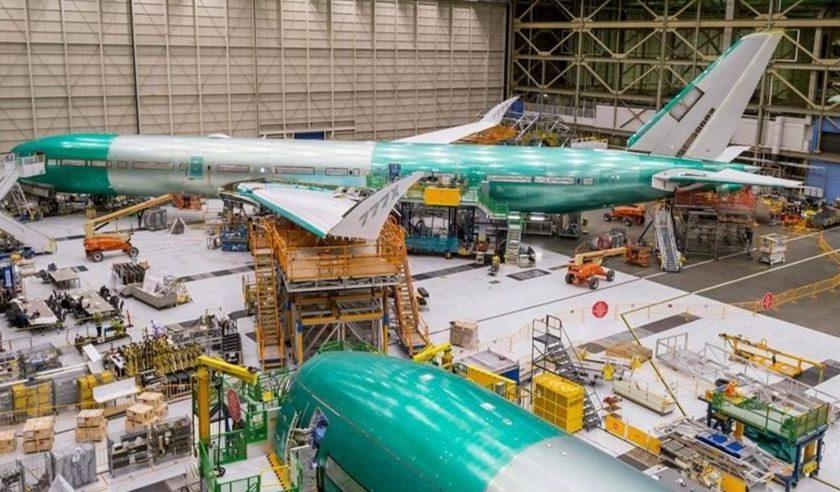Dans l'usine de production du 737 MAX aux Etats Unis.