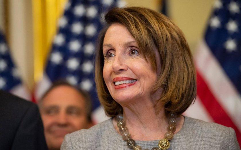 Nancy Pelosi, la présidente démocrate de la Chambre des Représentants des Etats Unis.