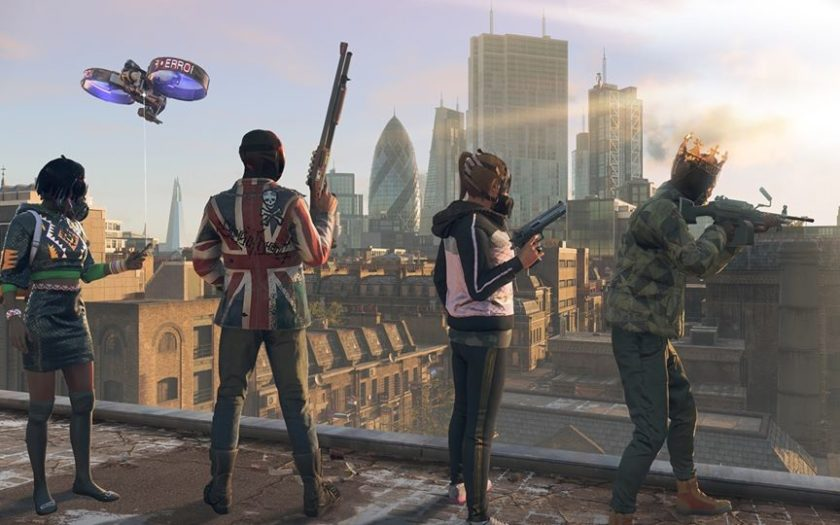 Capture du jeu Watch Dogs Legion d'Ubisoft.