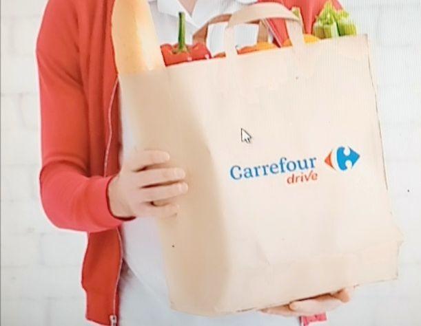 Un panier proposé par Carrefour