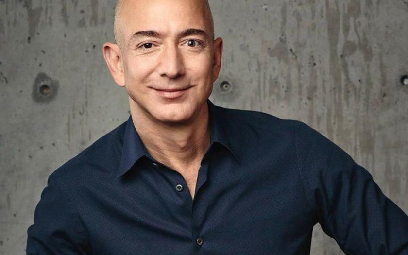 Jeff Bezos, PDG et fondateur d'Amazon, homme le plus riche au monde..