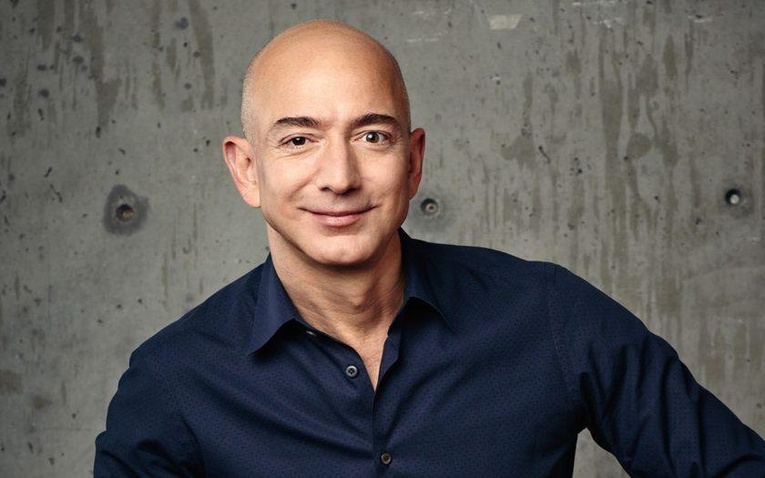 Jeff Bezos, fondateur et directeur général du géant du commerce en ligne Amazon.