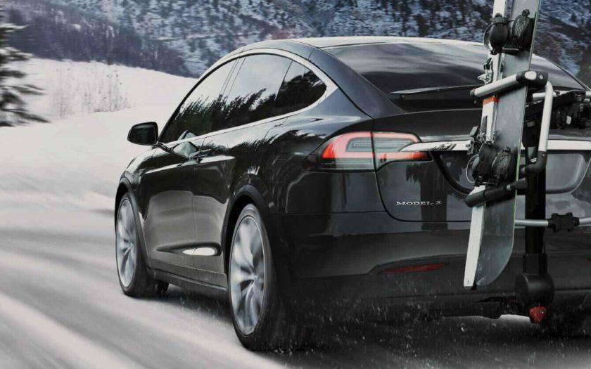 Model X de Tesla.